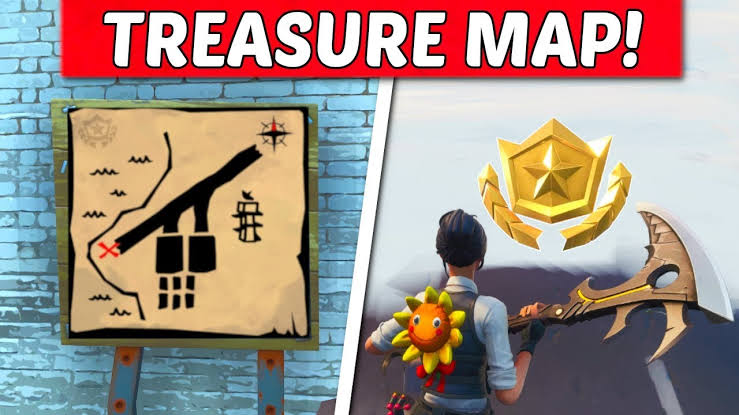 Fortnite Paradise Palms Treasure Fortnite Paradise Palms Treasure Map Signpost Treasure Map X Location Guide The Gamer Hq The Real Gaming Headquarters