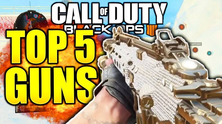 Call Of Duty Black Ops 4 The 10 Deadliest Weapons The Gamer Hq