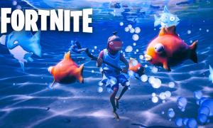 Fortnite leaks point to underwater swimming coming in Season 3