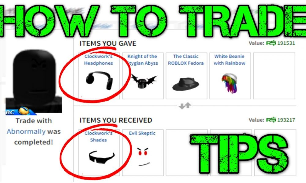 Best Way To Trade In Roblox The Gamer Hq