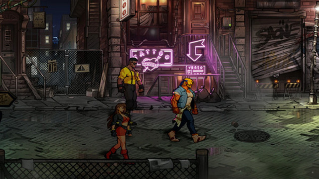 How many stages are there in Streets of Rage 4?