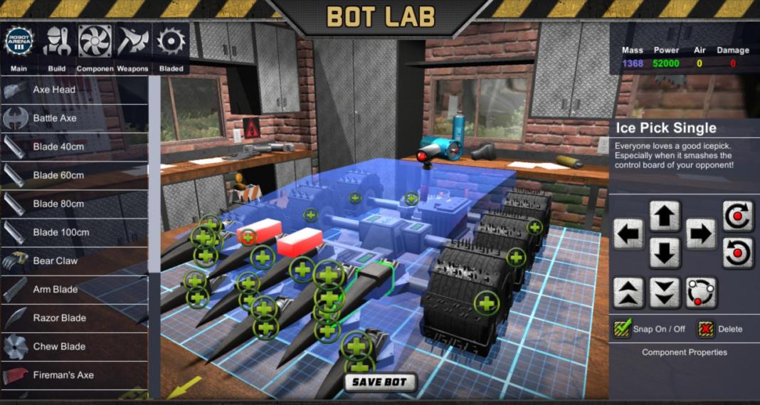 Robot Arena 2 iOS/APK Full Version Free Download
