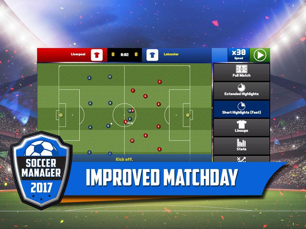 Soccer Manager APK & iOS Latest Version Free Download