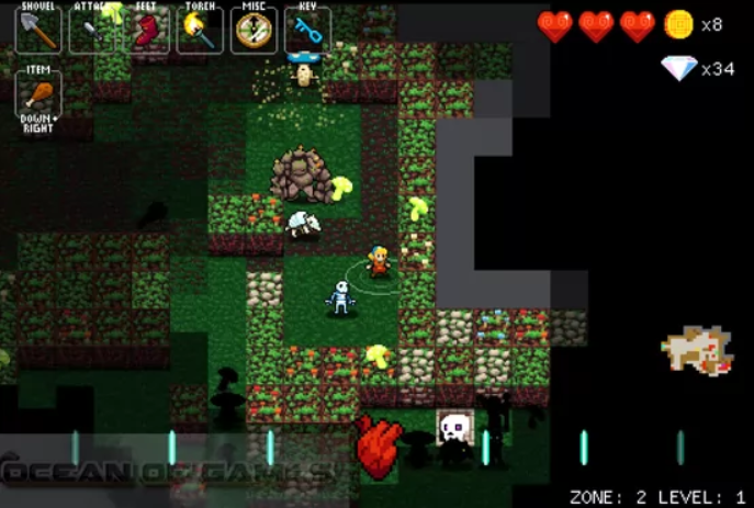 Crypt Of The Necrodancer iOS Latest Version Free Download