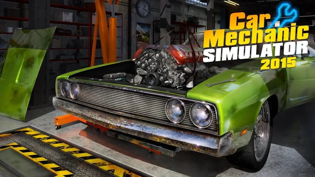 Car Mechanic Simulator 2015 PC Version Full Game Free Download