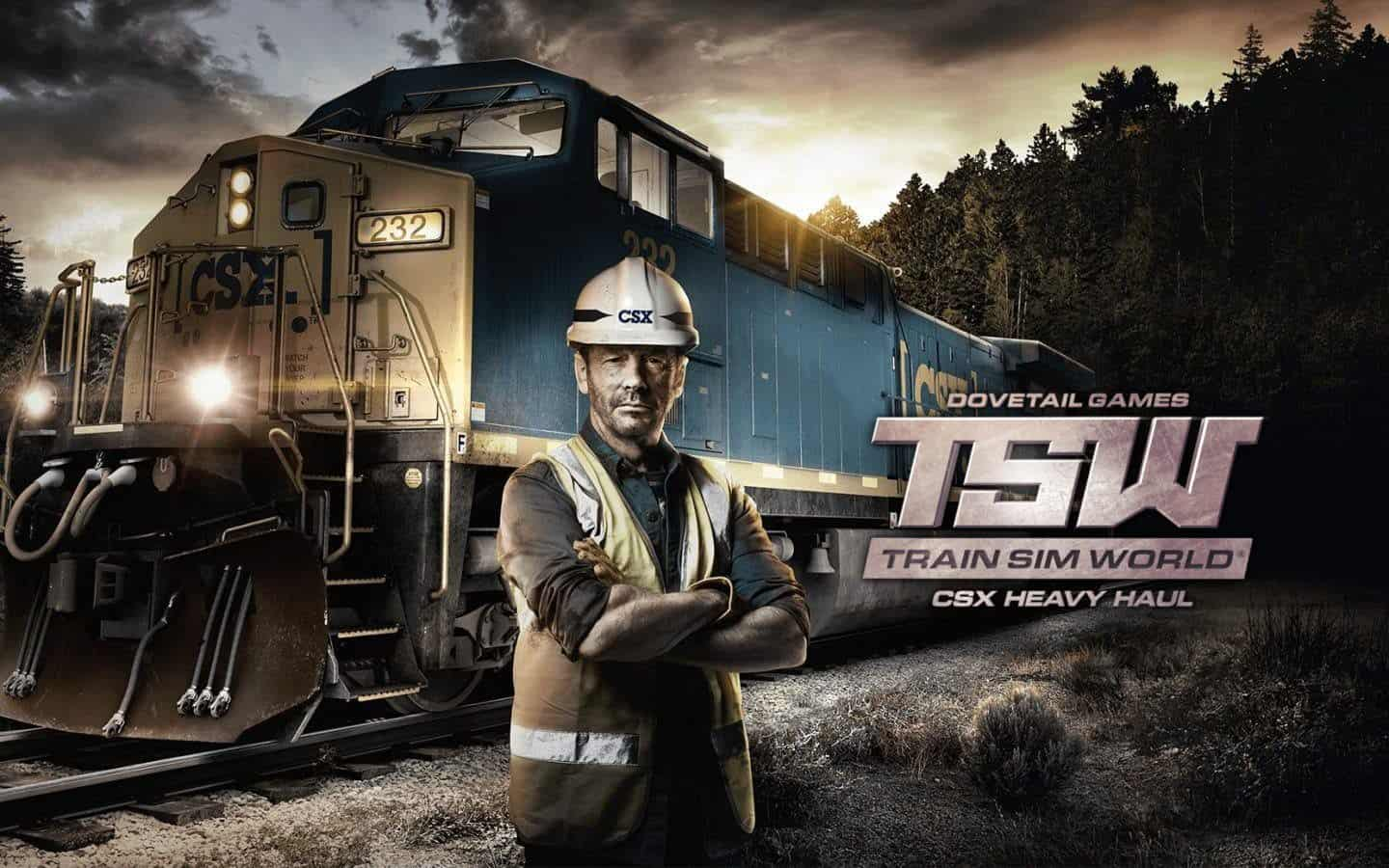 TSW Train Sim World: CSX Heavy Haul PC Latest Version Game Free Download