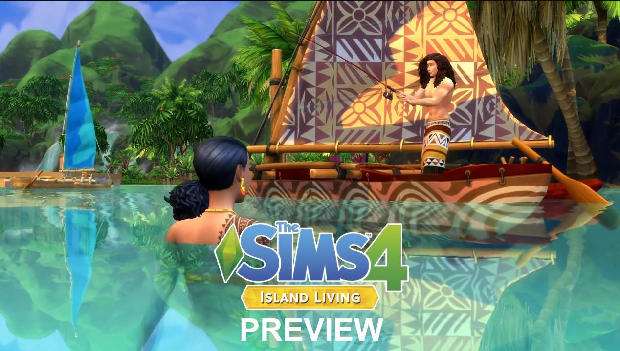 Sims 4 Island Living iOS/APK Full Version Free Download