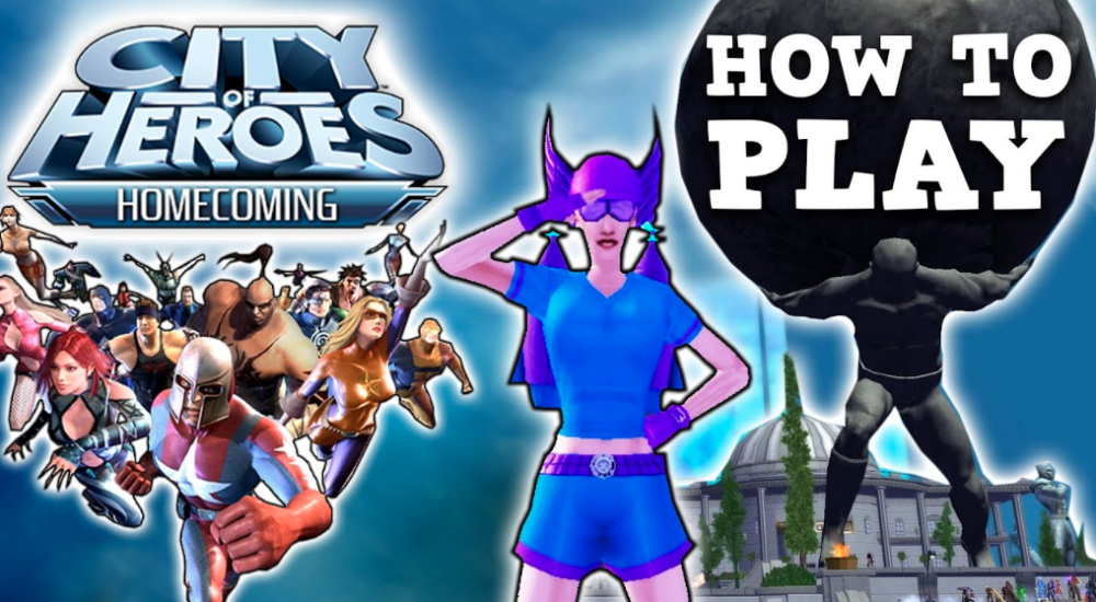 City Of Heroes Home coming Game Full Version PC Game Download