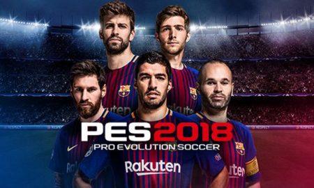 Pro Evolution Soccer 2018 iOS Latest Version Free Download