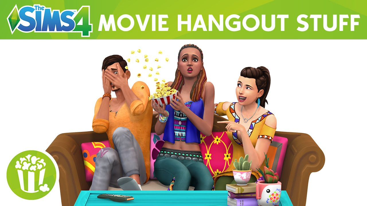 The Sims 4 Movie Hangout Stuff Game Full Version PC Game Download