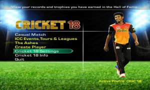 EA Sports Cricket 2018 PC Game Free Download