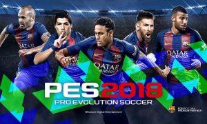 Pro Evolution Soccer 2018 Version Full Mobile Game Free Download