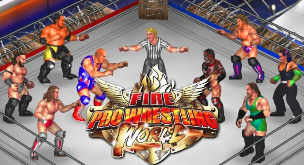 Fire Pro Wrestling World Full Version PC Game Download