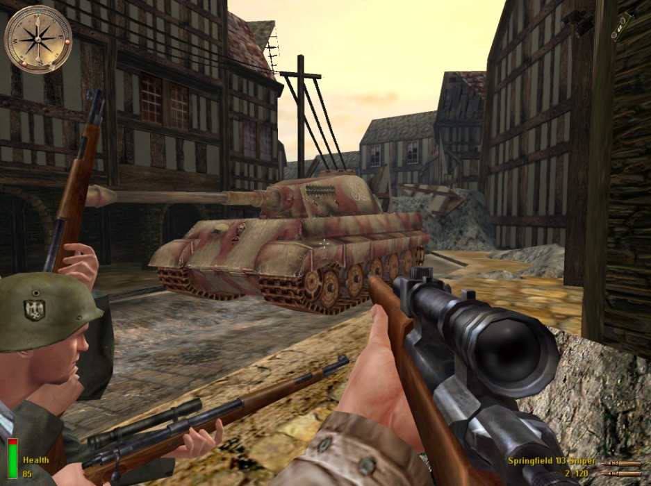 Medal Of Honor Allied Assault PC Version Game Free Download