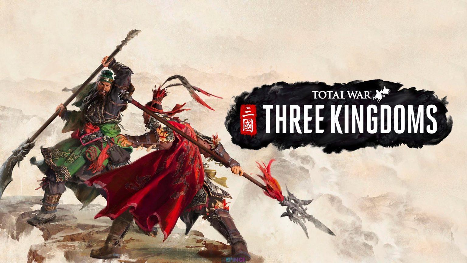 Total War Three Kingdoms PC Version Full Game Setup Free Download