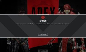 How to fix Apex Legends error code leaf Connection to server timed out [code:leaf] after every single match before enter