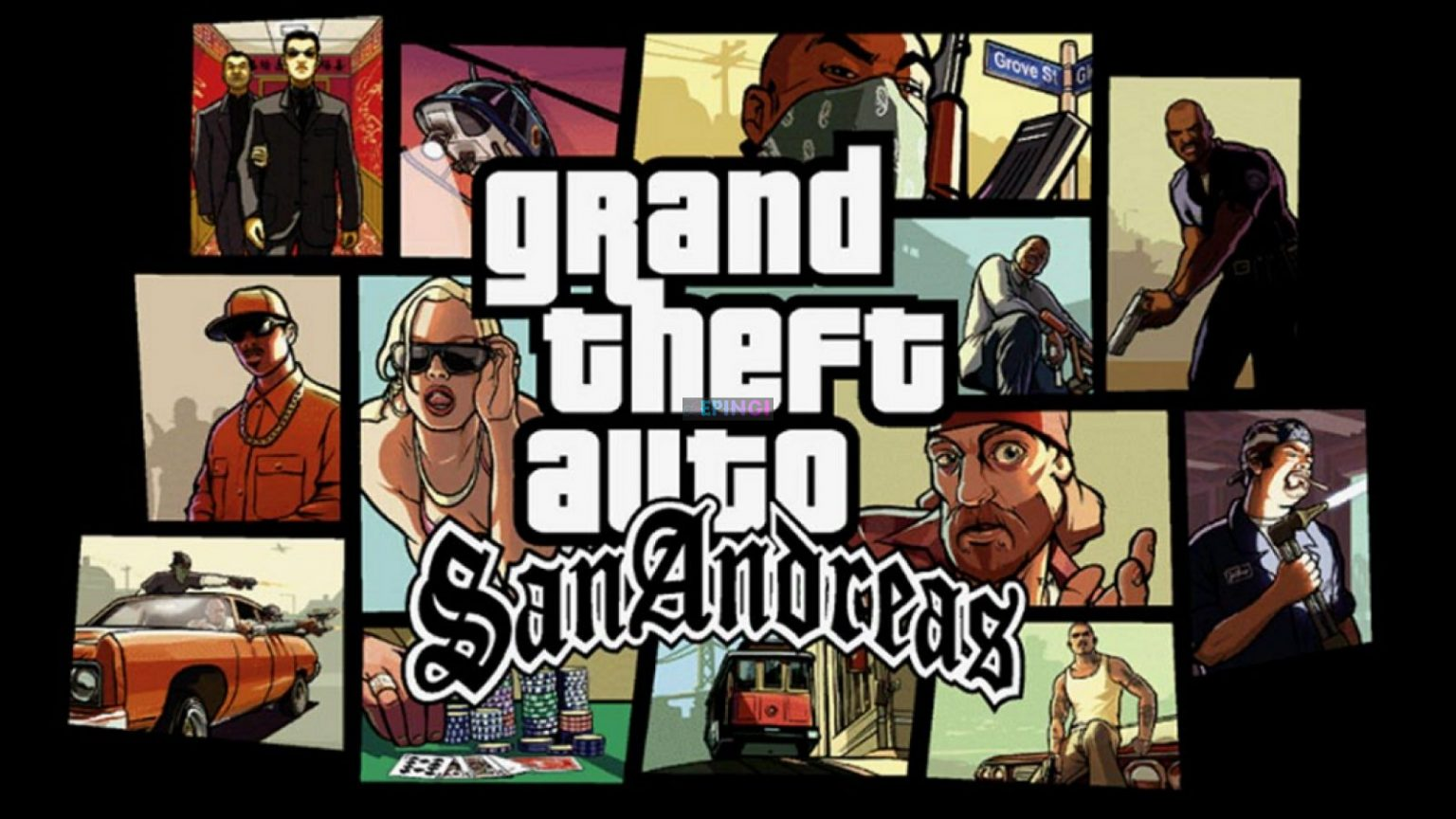 Grand Theft Auto San Andreas Version Full Mobile Game Free Download