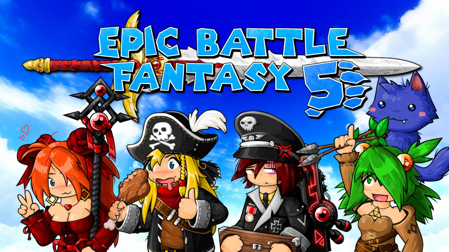 Epic Battle Fantasy 5 Full Mobile Game Free Download
