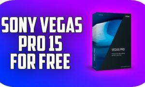 Sony Vegas Pro 15 PC Version Game Free Download