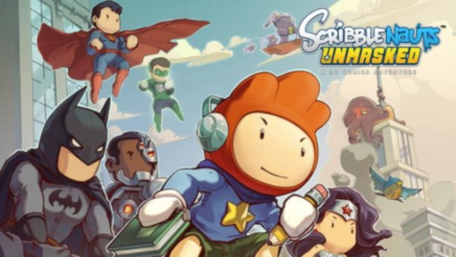 Scribblenauts Unmasked A DC Comics Adventure iOS/APK Full Version Free Download