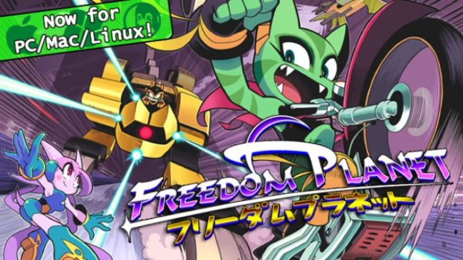 Freedom Planet PC Game Latest Version Free Download