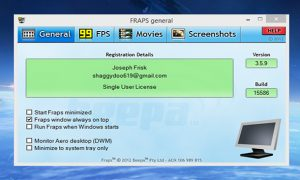 FRAPS Game Full Version Free Download