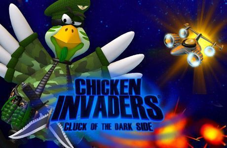 Chicken Invaders 5 Cluck of the Dark Side APK Full Version Free Download