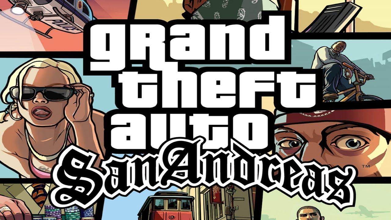 GRAND THEFT AUTO (GTA) SAN ANDREAS PC Version Free Download