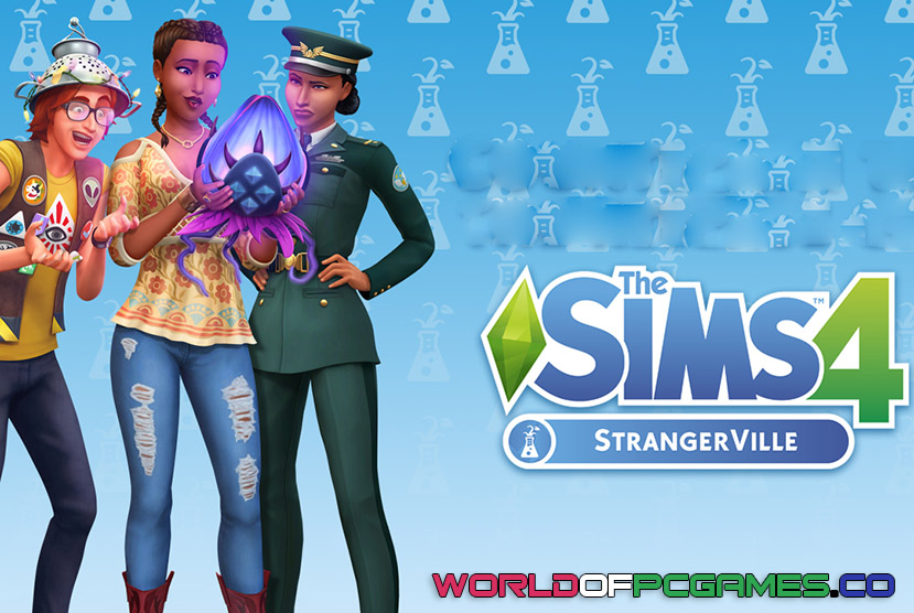 The Sims 4 StrangerVille iOS/APK Version Full Game Free Download