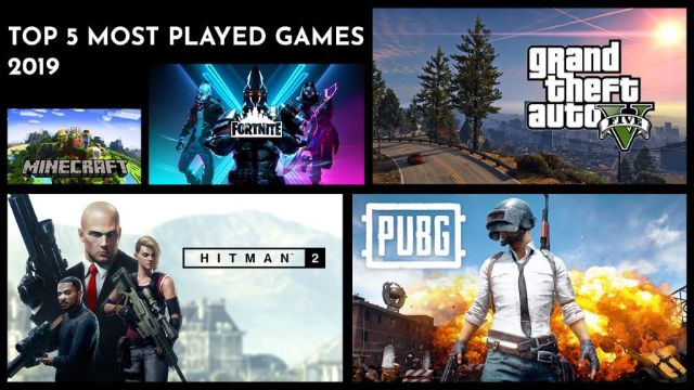 Top 5 most played games 2019 PC Latest Version Free Download