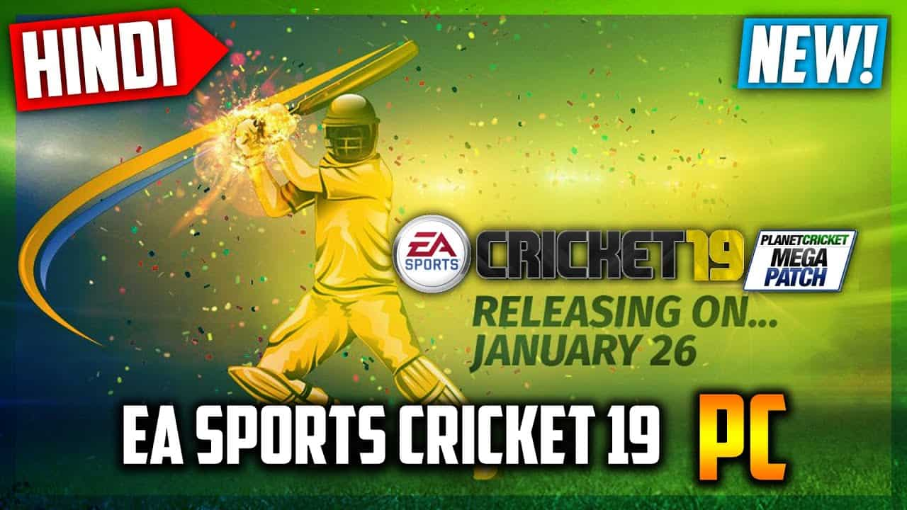 EA Sports Cricket 2019 free game for windows