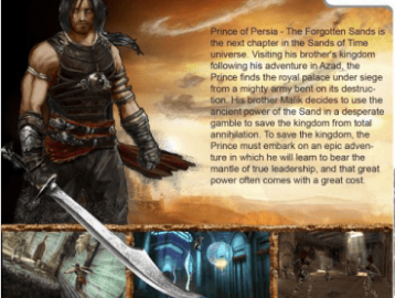 Prince Of Persia The Forgotten Sands PC Game Download Free